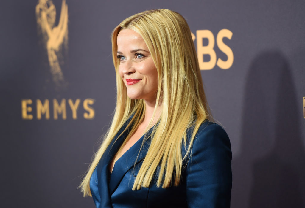 "Reese Witherspoon thinks she knows why Trump stole part of her speech from ""Legally Blonde"""