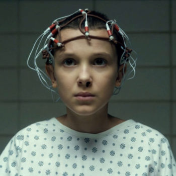 "Millie Bobby Brown says Eleven still doesn't say much during Season 2 of ""Stranger Things,"" but her vocabulary is expanding in a funny way"
