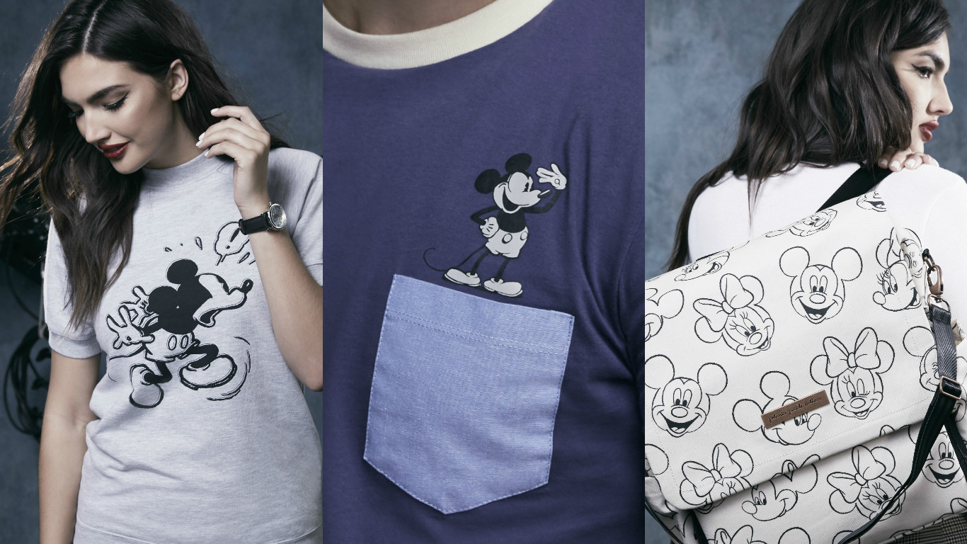 This new Disney collection inspired by 1950s Mickey will make you feel Old Hollywood glam