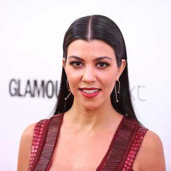 Kourtney Kardashian pulled a total Blair Waldorf and ate chocolate in her lingerie in Paris