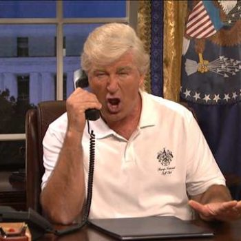 "Alec Baldwin kicked off the new season of ""SNL"" with a Trump sketch, and he had A LOT of ground to cover"