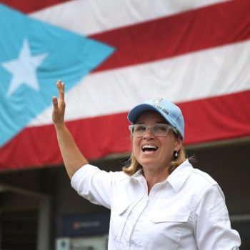 "Just for the record, Mayor of San Juan Carmen Yulín Cruz has no ""time for distractions"" like political fights"