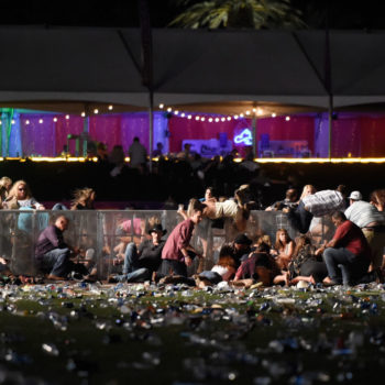 This father saved his kids with a selfless act during the Las Vegas shooting