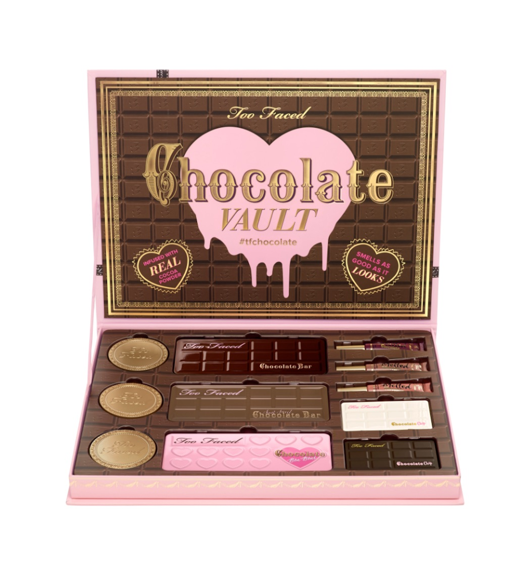 Too Faced released its new Chocolate Vault makeup set, and it's a sweet treat