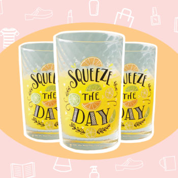 WANT/NEED: Kitschy juice glasses, and more stuff you'll want to buy