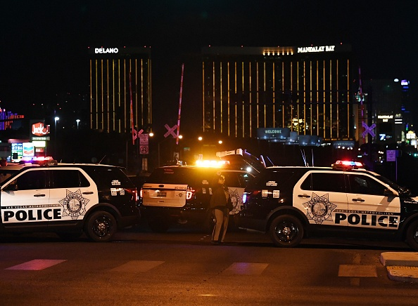 A victim of the Las Vegas shooting saved his wife's life before being fatally shot