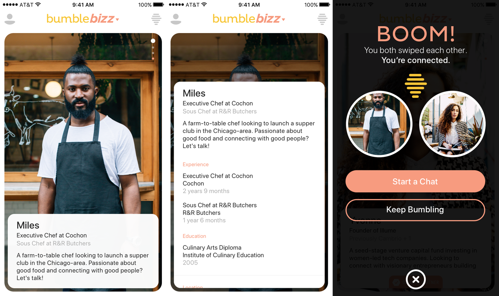 Bumble Bizz now wants to help you find a date AND a new