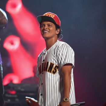 Bruno Mars just surprised Michelle Obama with the coolest gift