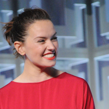 The first picture for Daisy Ridley's new movie is here, and you're going to do a double-take