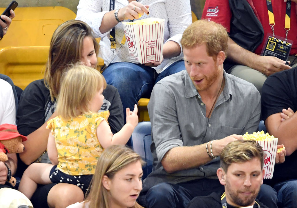 7 adorable times Prince Harry proved babies love him