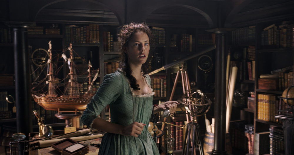 "Kaya Scodelario was thrilled she got to play a strong, intelligent swashbuckler in ""Pirates of the Caribbean"""