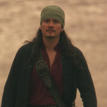 "If you thought you were excited for Orlando Bloom to reprise his role in ""Pirates,"" just wait 'til you hear how excited he was"