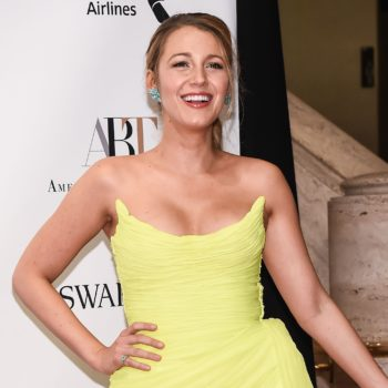 This is why Blake Lively says she changed her stance on filming nude scenes
