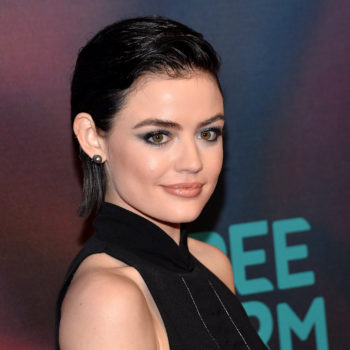 Lucy Hale's latest Insta pic proves she got her eyebrows from her papa