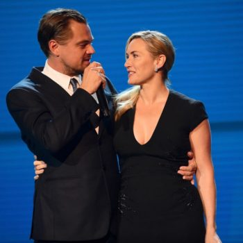 Kate Winslet insists she and Leonardo DiCaprio never had feelings for each other