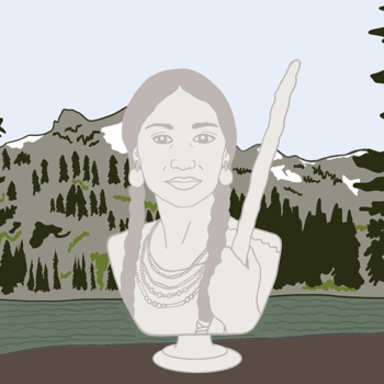 Today, we honor Sacagawea, one of American history's most significant female figures
