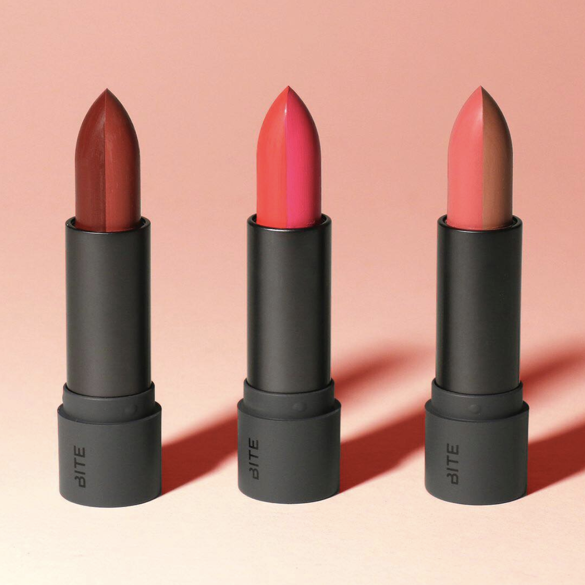 Bite Beauty released two-toned lipsticks, because they know we can't just pick one color to wear