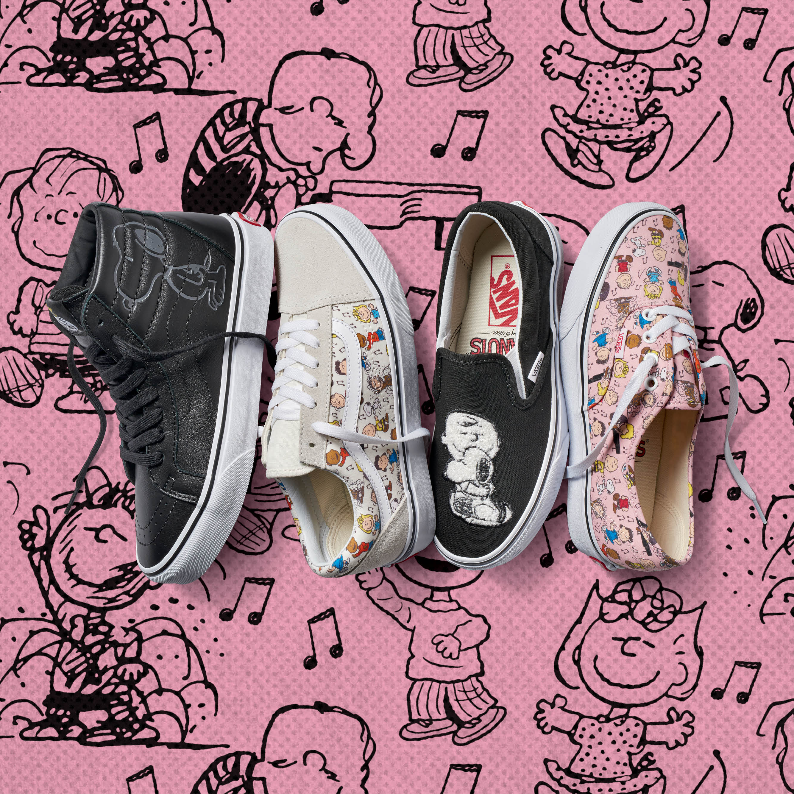 "Snoopy fans, rejoice — Vans collaborated with ""Peanuts"" for another collection"