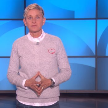 Ellen DeGeneres addressed the Las Vegas shooting with a montage of people doing good in the world