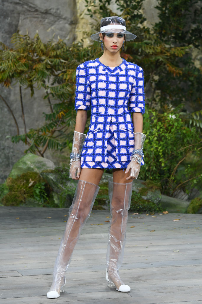 While glitter boots may have dominated the Paris Fashion Week scene last  season 97b09add726