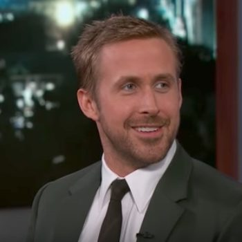 Ryan Gosling says his daughter's first day in NYC was not ideal, and LOL