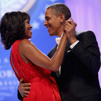 "Barack Obama ""crashed"" an event to surprise Michelle for their 25th anniversary, and yes, she cried"