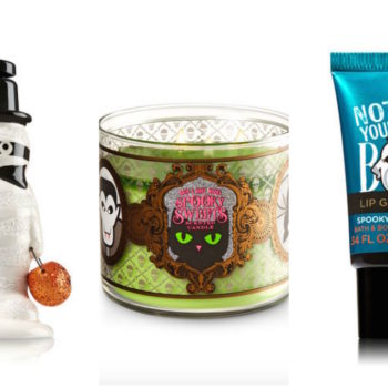 Bath & Body Works released a new Halloween collection that's scary-good