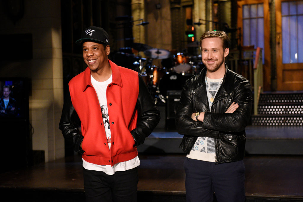 "Ryan Gosling had the smarmiest response to why he kept breaking character on ""SNL"""