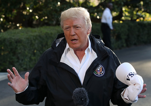 "Trump said hurricane-torn Puerto Rico was not a ""real catastrophe,"" fortifying his garbage status"