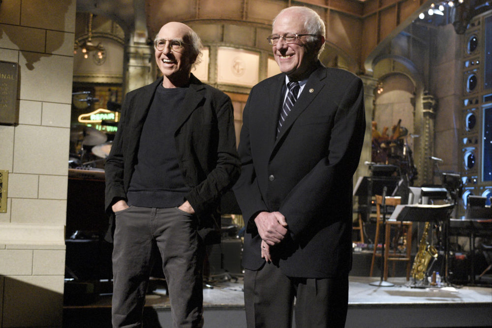 You have to see Bernie Sanders and Larry David's reaction when they find out they're *actually* related