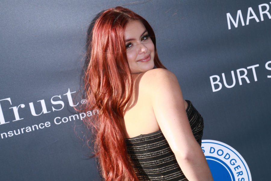 Ariel Winter just reinvented Bettie Page bangs on the cover of Lapalme Magazine