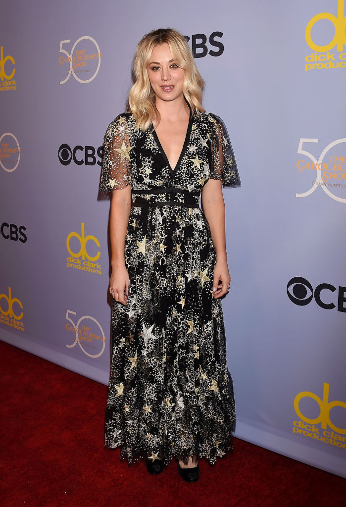 Kaley Cuoco S Starry Sky Dress Is Fit For A Modern Witch