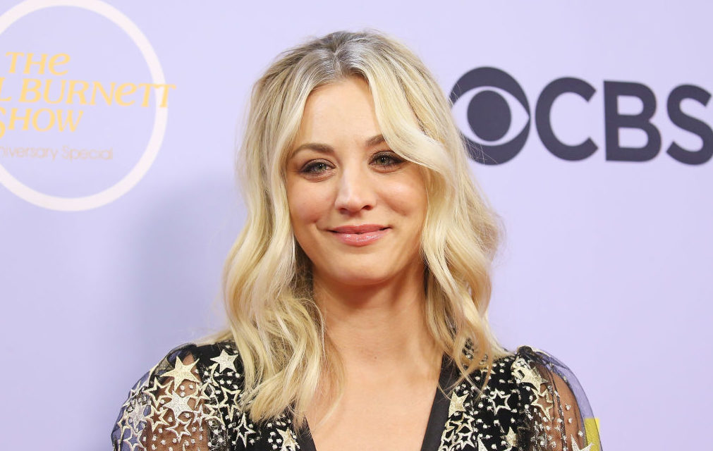 Kaley Cuoco's starry sky dress is fit for a modern witch