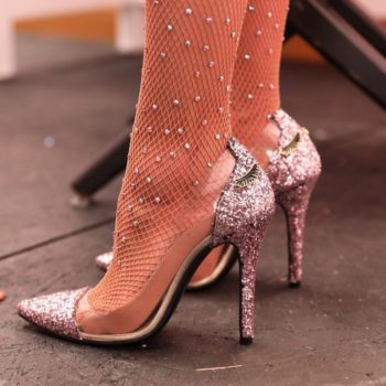 Too Faced is launching its sparkly Better Than Sex heels soon, so make room in your closet