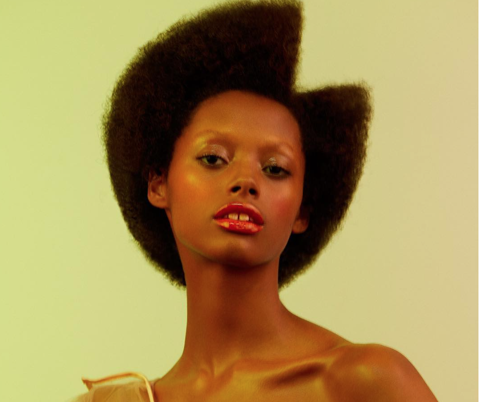 """This model is calling for stylists to """"learn how to do black hair"""" — after they avoided her backstage at fashion week"""