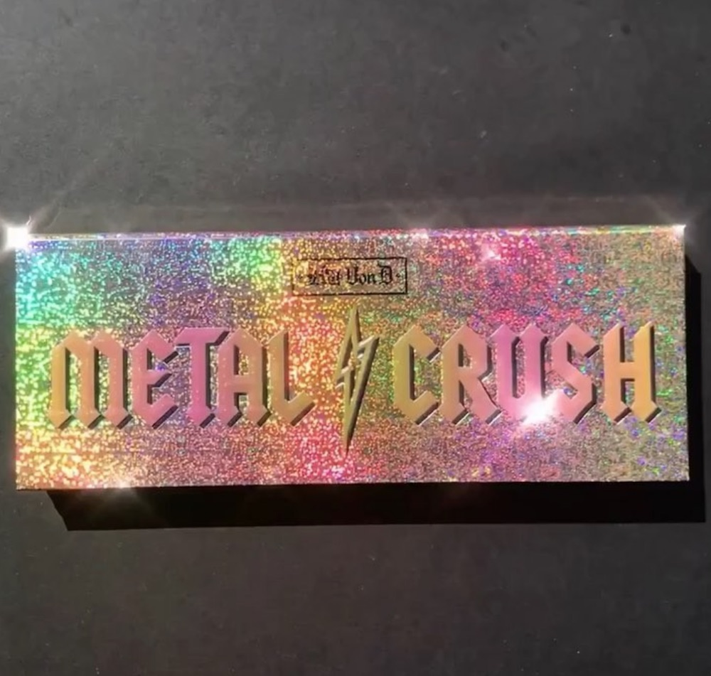 Kat Von D Beauty just teased the new Metal Crush highlighter palette, and it's mesmerizing