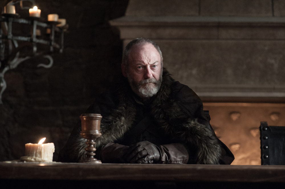 "According to Ser Davos, ""Game of Thrones"" probably won't come back until 2019"