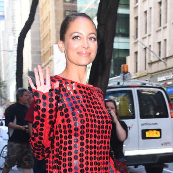 Nicole Richie's layered turtleneck is the one look you need to recreate this fall