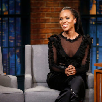"This is what Kerry Washington wants to steal from the set of ""Scandal"" to remember the show by"