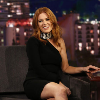 Isla Fisher would like you to know that she's not Amy Adams (and neither of them are Jessica Chastain)