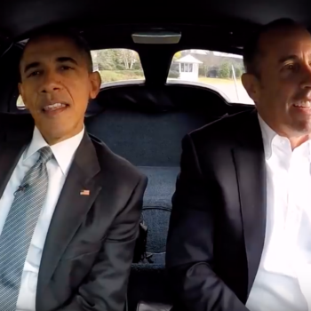 "Jerry Seinfeld says driving in a car with Barack Obama was the ""greatest moment"" of his life"