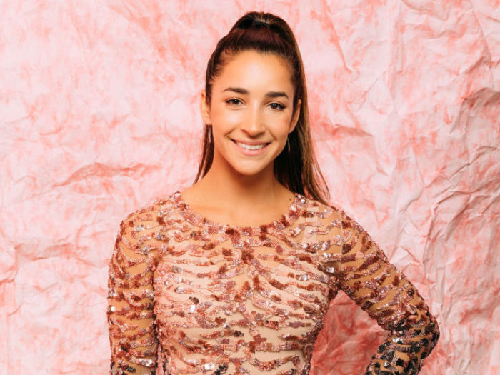 Aly Raisman Posed Nude for Sports Illustrated Swim