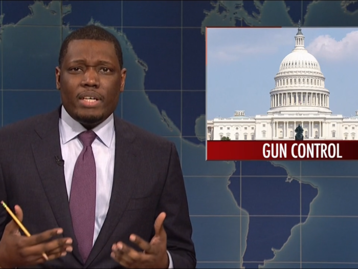 'Saturday Night Live' slams 'delicate snowflakes' as it tackles gun control