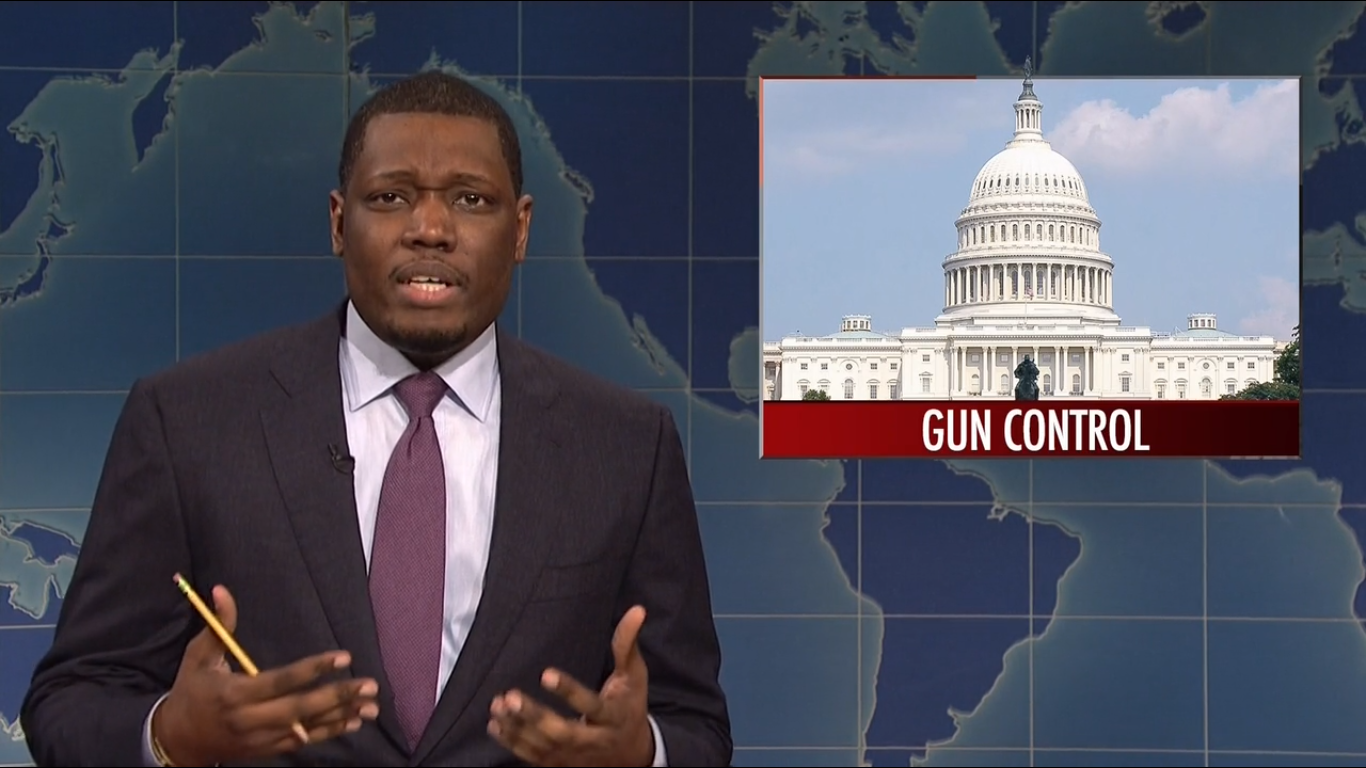 """""""Saturday Night Live"""" offered a searing take on gun control, and we needed to hear this"""