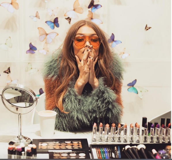 Gigi Hadid is collaborating with Maybelline on the ultimate *It Girl* makeup collection