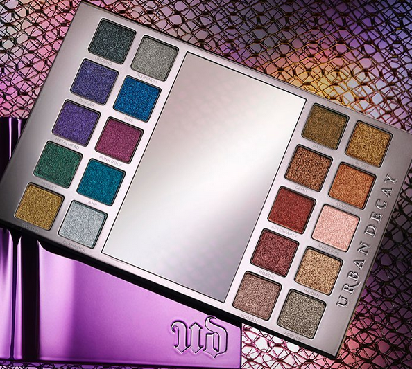 If you aren't a fan of matte shadows, then Urban Decay's new Heavy Metals palette is made for you