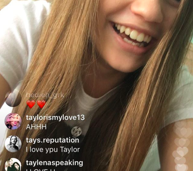 Taylor Swift Is Lurking On Fans Instagram Lives Because