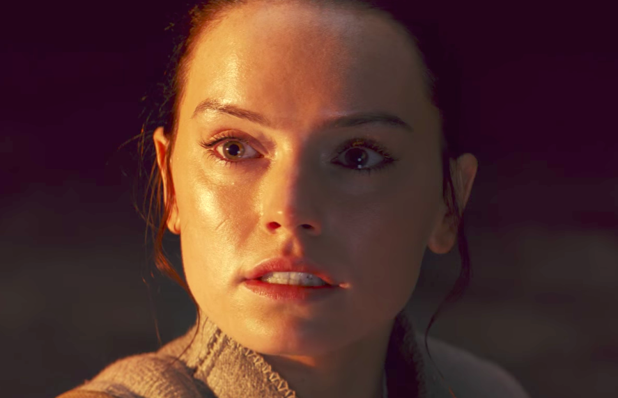 "Yes, it appears Rey DOES THAT in the latest trailer for ""Star Wars: The Last Jedi"""