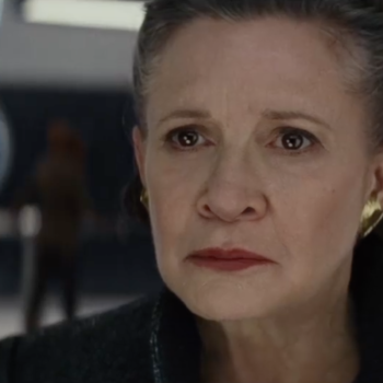 """Carrie Fisher doesn't even say anything in the trailer for """"The Last Jedi,"""" but we're still crying at the sight of General Leia"""