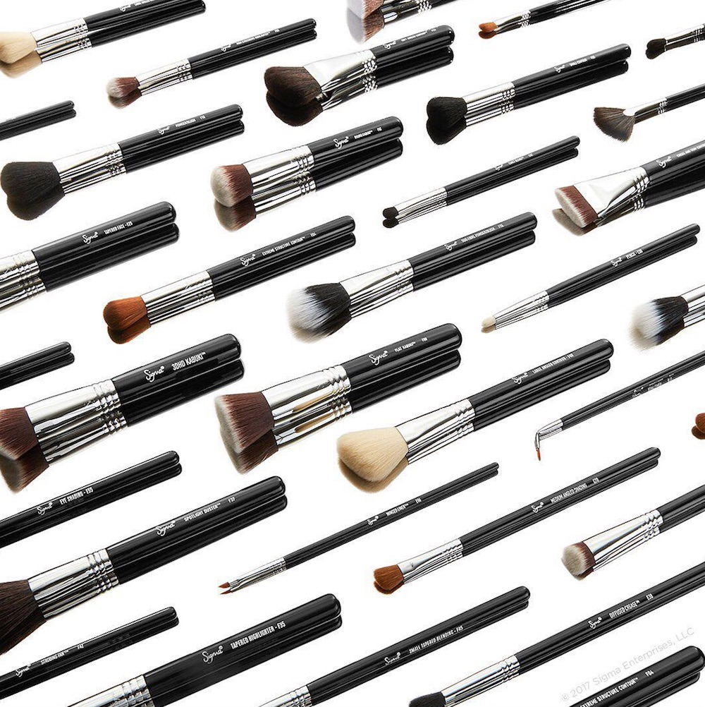 You can now buy Sigma Beauty's cult favorite makeup brushes and cleaning tools at ASOS